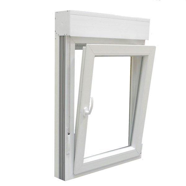 Ventana PVC 1 hoja blanca oscilobatiente
